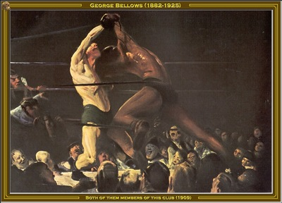 george bellows members of this club 1909 po amp