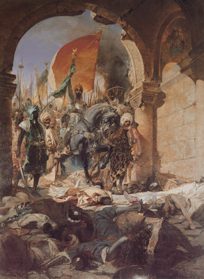 Benjamin Constant The Entry of Mahomet II into Constantinople
