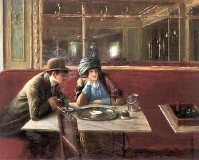Beraud Jean Au Cafe
