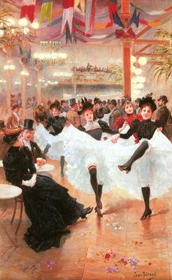 Beraud Jean Jeune Le Cafe De Paris