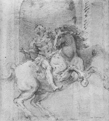 Bernini Study for Constantine the Great