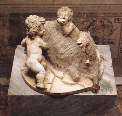 Bernini The Goat Amalthea with the Infant Jupiter and a Faun