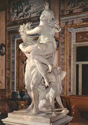 Bernini The Rape of Proserpina detail2