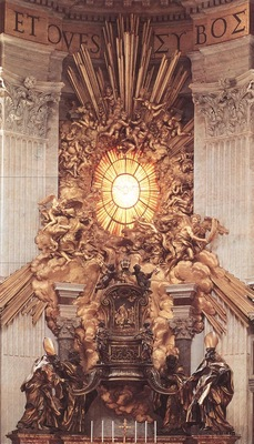 Bernini The Throne of Saint Peter