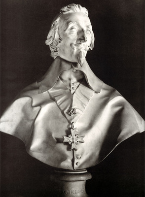 Portrait Bust of Cardinal Richelieu