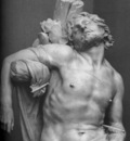 Bernini Saint Sebastian detail