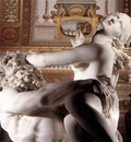 Bernini The Rape of Proserpina detail3