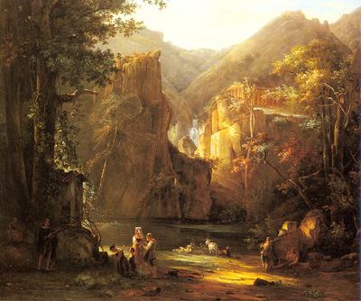 Bertin Jean Victor Classical Landscape