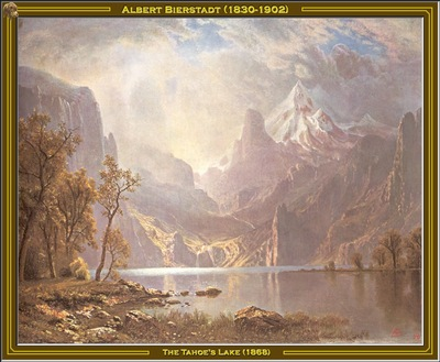albert bierstadt the tahoes lake 1868 po amp