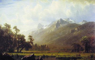 The Sierras near Lake Tahoe