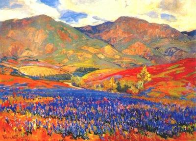 bischoff spring flowers, san fernando valley c1925