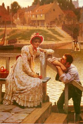 Leighton Edmund Blair Courtship
