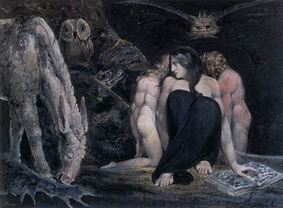 BLAKE William Hecate Or The Three Fates