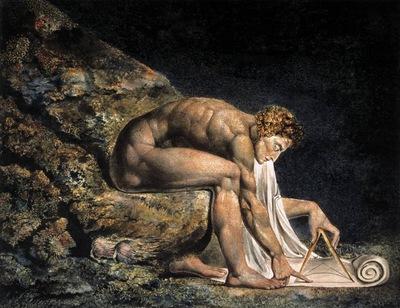 BLAKE William Isaac Newton