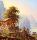 Bleuler Ludwig Vue Du Grutli Au Lac Des Quatre Cantons