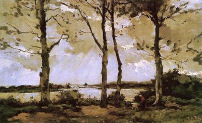 Bock de Theophile Landscape Sun