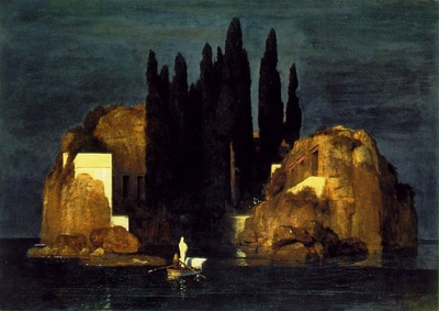Bocklin The isle of the dead 1880, Kunstmuseum Basel, Basle