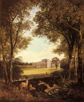 Boddington Henry John A View Of Norton Hall