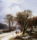 Bodeman Wilem Winterlandscape Sun