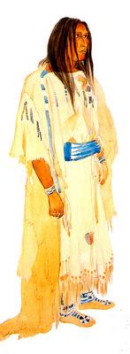 Young Piegan Blackfeet woman KarlBodmer sqs