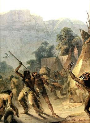 Tna 0007 Missouri Indians KarlBodmer, 1832 sqs
