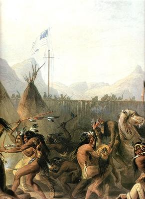 Tna 0008 Fort Pierre KarlBodmer, 1832 sqs