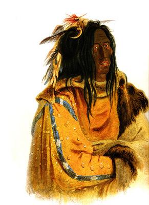 Tna 0033 Mehkskeme Sukahs Blackfoot Chief KarlBodmer, 1833 sqs