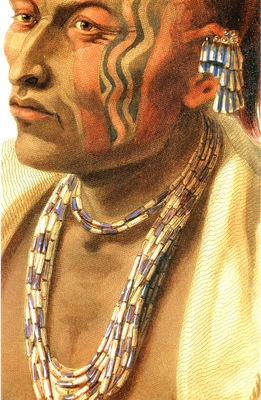 Tna 0041 Detail of Wakesasse, Musquake Indian Karl Bodmer, 1833 sqs