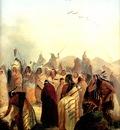 Kb 0008 Scalp Dance of the Minatarres [R] KarlBodmer, 1832 sqs