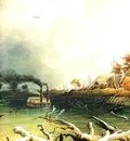 Kb 0016 Snags on the Missouri River KarlBodmer, 1833 sqs