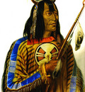 Kb 0018 Noapeh Assiniboin Indian KarlBodmer, 1833 sqs