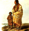 Tna 0016 Dacota Woman and Assiniboin Child KarlBodmer, 1833 sqs