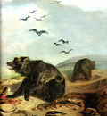 Tna 0031 Hunting the Grizzly Bear [R] KarlBodmer, 1834 sqs