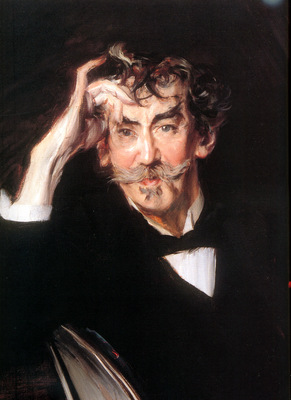Boldini Giovanni James Whistler detail Sun
