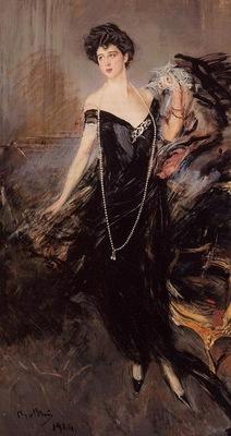 Boldini Giovanni Portrait of Donna Franca Florio