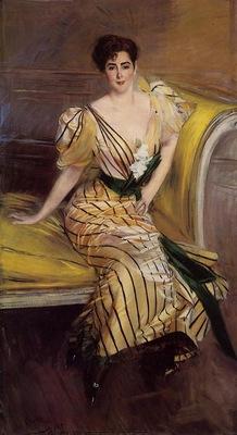 Boldini Giovanni Portrait of Madame Josephina Alvear de Errazuriz