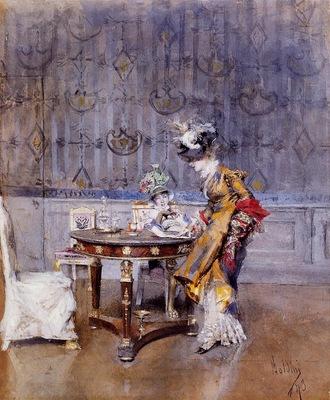 Boldini Giovanni The Letter