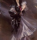Boldini Giovanni Portrait of Anita de la Ferie The Spanish Dancer