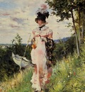 Boldini Giovanni The Summer Stroll