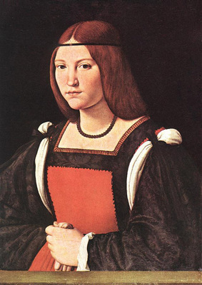 Boltraffio Giovanni Antonio Portrait of a Young Woman MLN