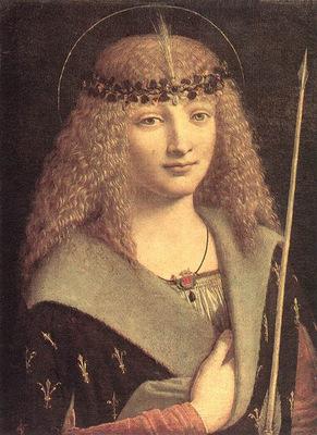 Boltraffio Giovanni Antonio St Sebastian MSW