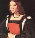 Boltraffio Giovanni Antonio Portrait of a Young Woman MLN