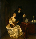 Terborch The music lesson c1670 NG Washington