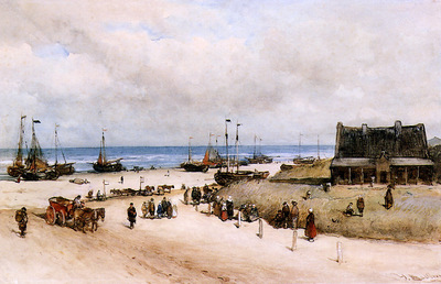 Bosboom Johannes Beach Of Scheveningen
