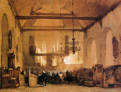 Bosboom Johannes Geertekerk In Utrecht Sun