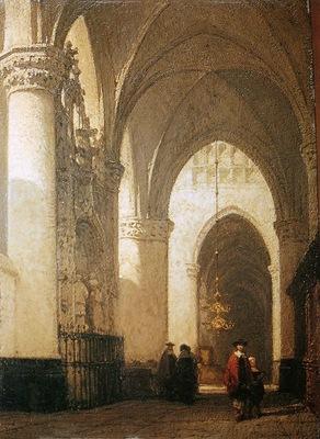 Bosboom Johannes Lieve Vrouwe Church Sun