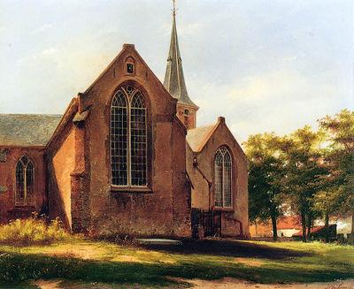 Bosboom Johannes Oude Kerk In Voorburg 19 Sun