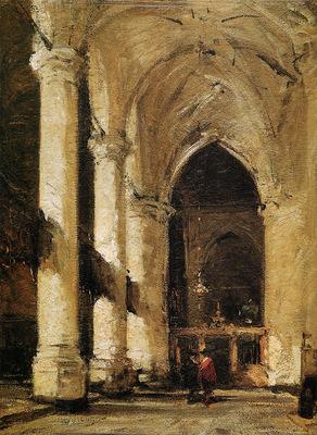 Bosboom Johannes Sint Jacobs Kerk s Gravenshage Sun