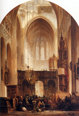 Bosboom Johannes Sint Jans s Hertogenbosch Sun