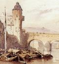 Bosboom Johannes Balduinbrug In Koblenz Sun